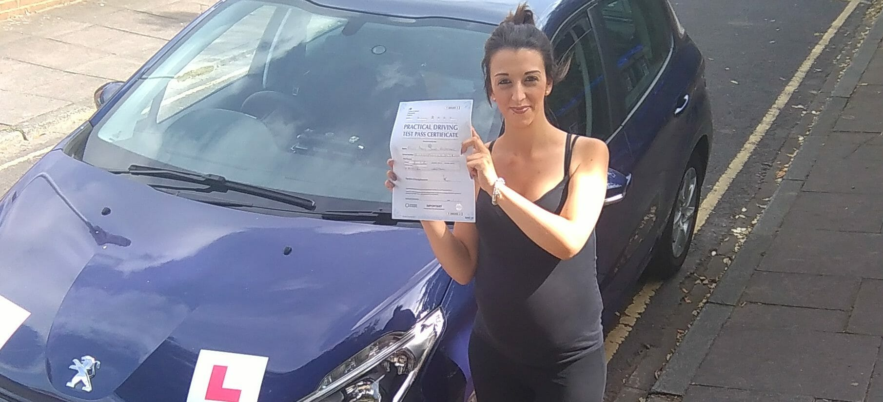 First Time Pass!! Congratulations to Aimee Mcarthur from Worthing