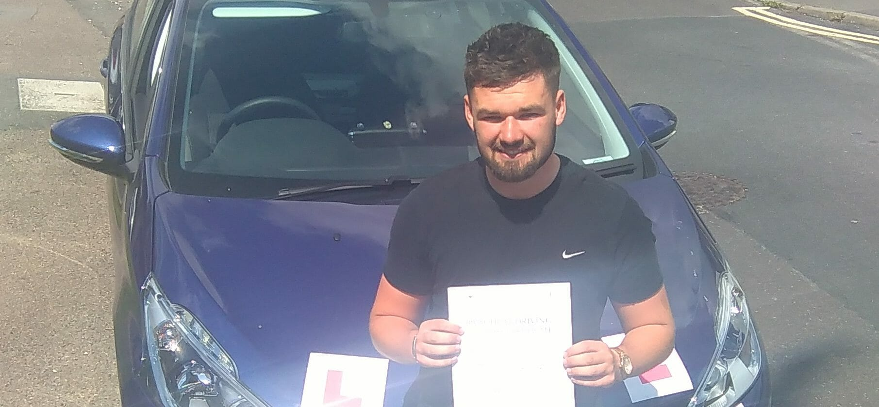 First Time Pass !! Well done to Calum Scott of Worthing