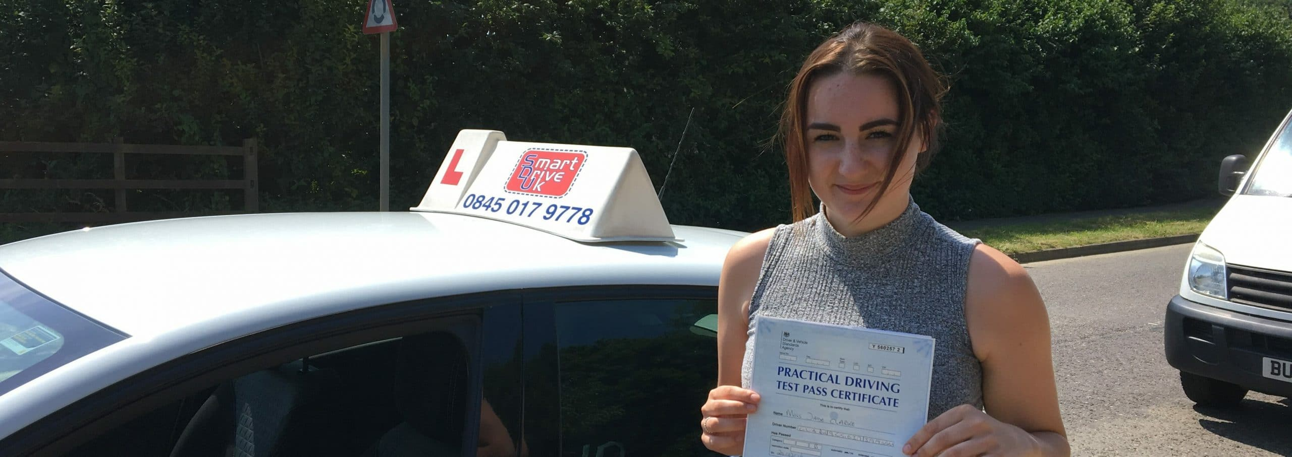 First Time Pass!! Congratulations to Jade from Worthing