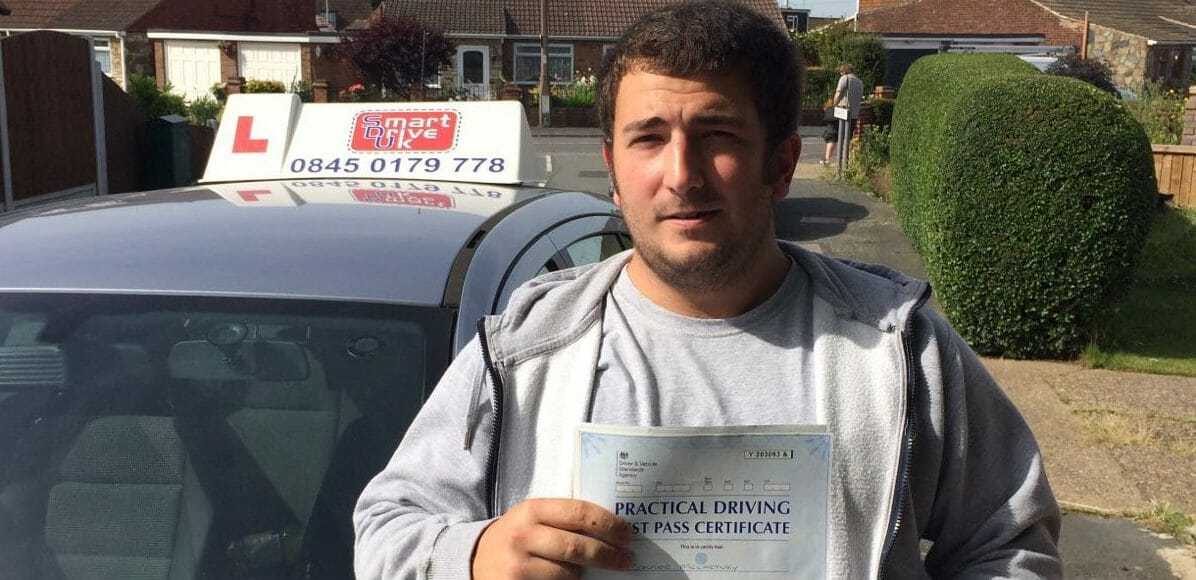 First Time Pass!! Well done to Connor McCarthy in Thurrock