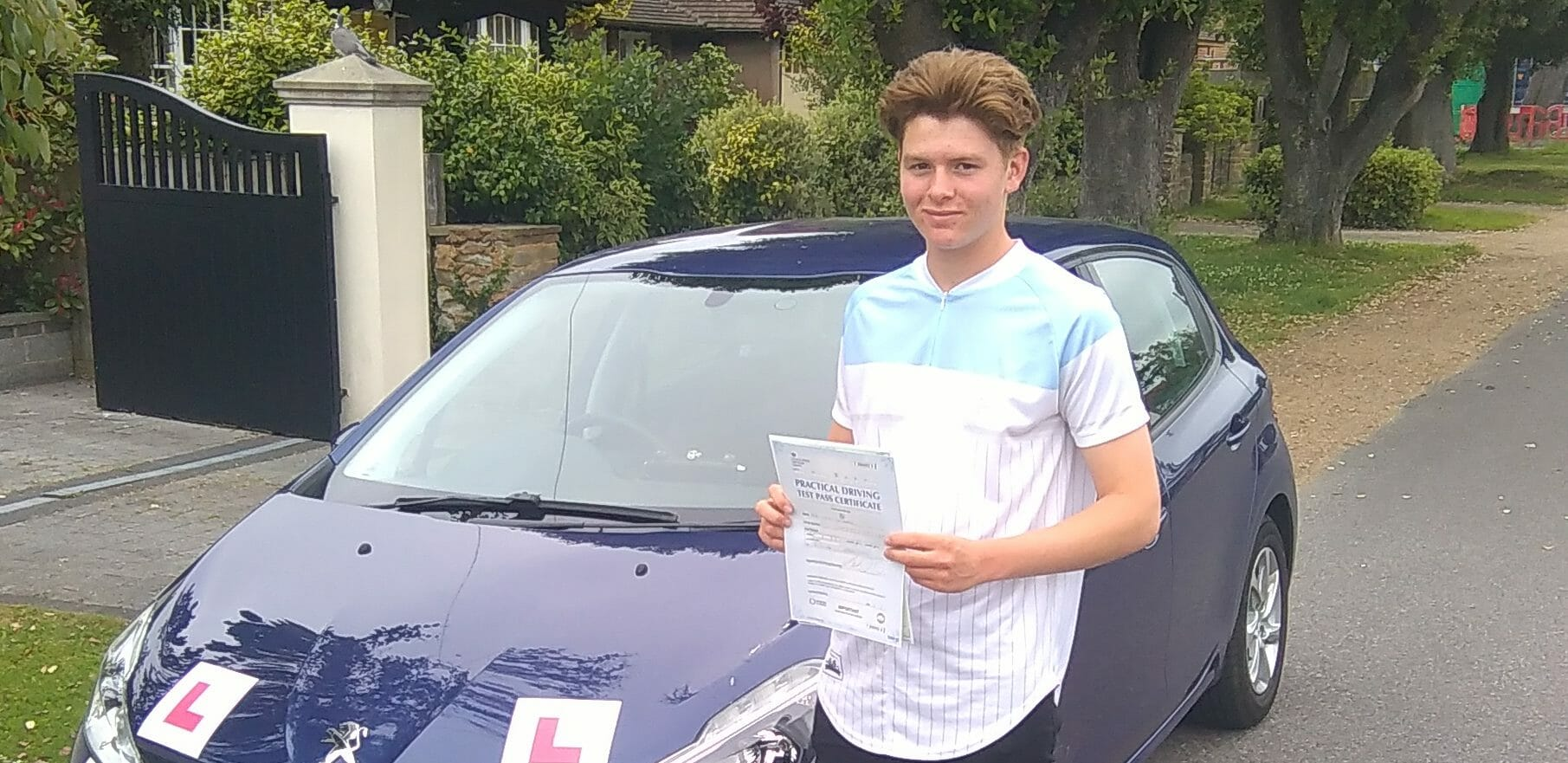 First Time Pass!! Well done to Tom Chisnall of Worthing.
