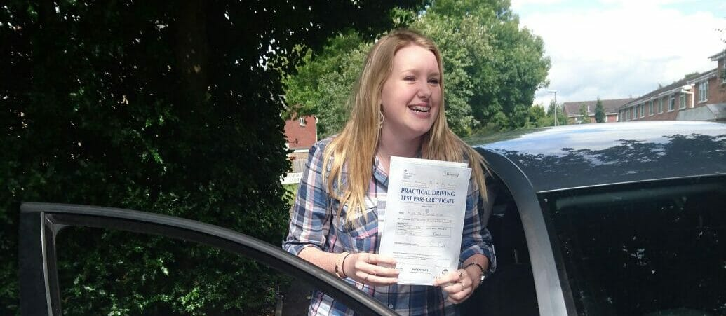 First Time Pass !! Well done to  Jodie in Poole