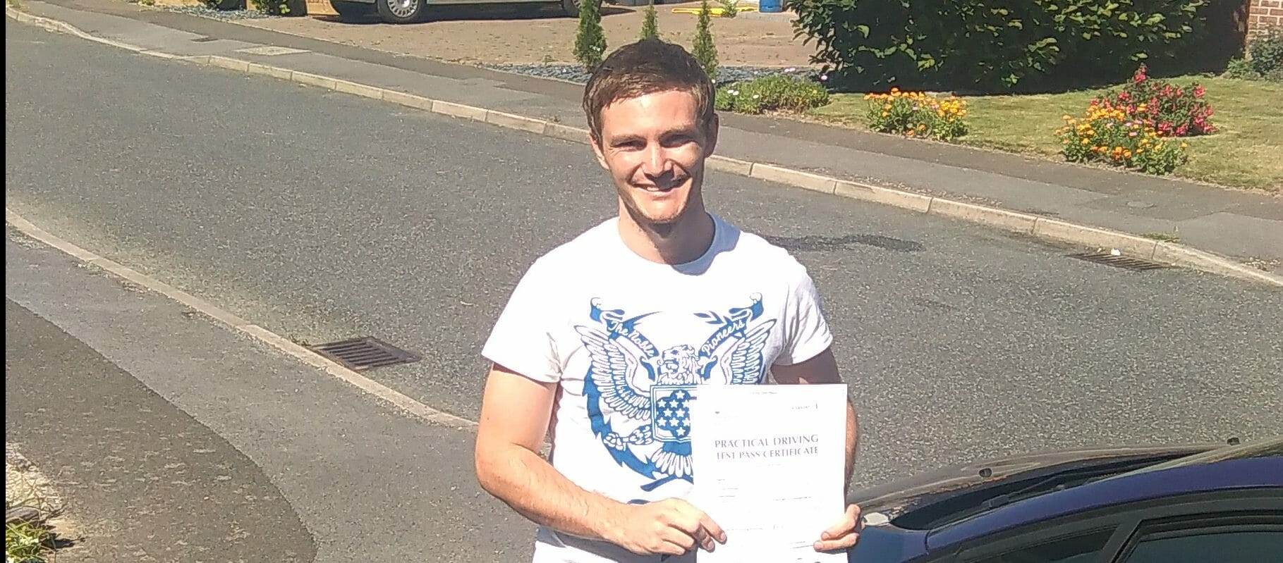 First Time Pass!! Congratulations to Ben from Worthing