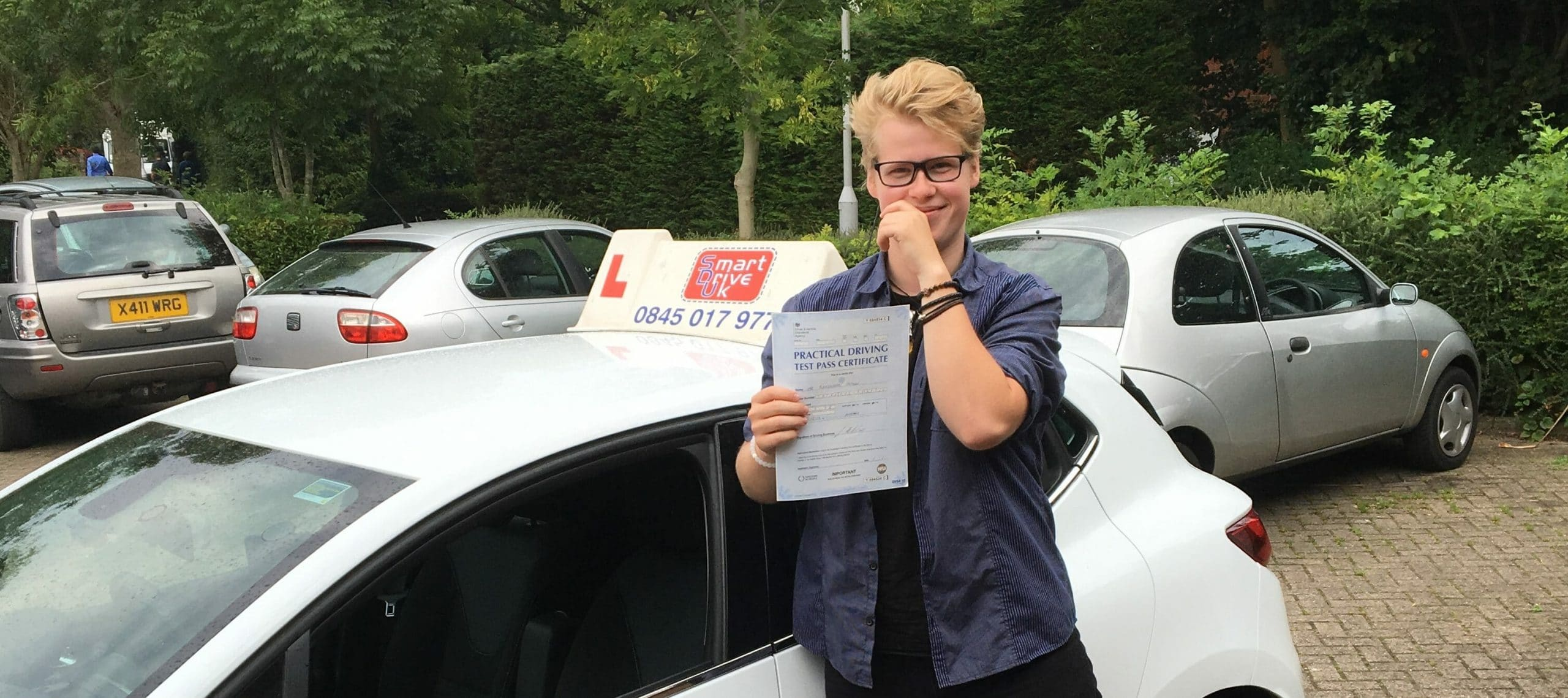 First Time Pass!! Congratulations to Alek from Worthing
