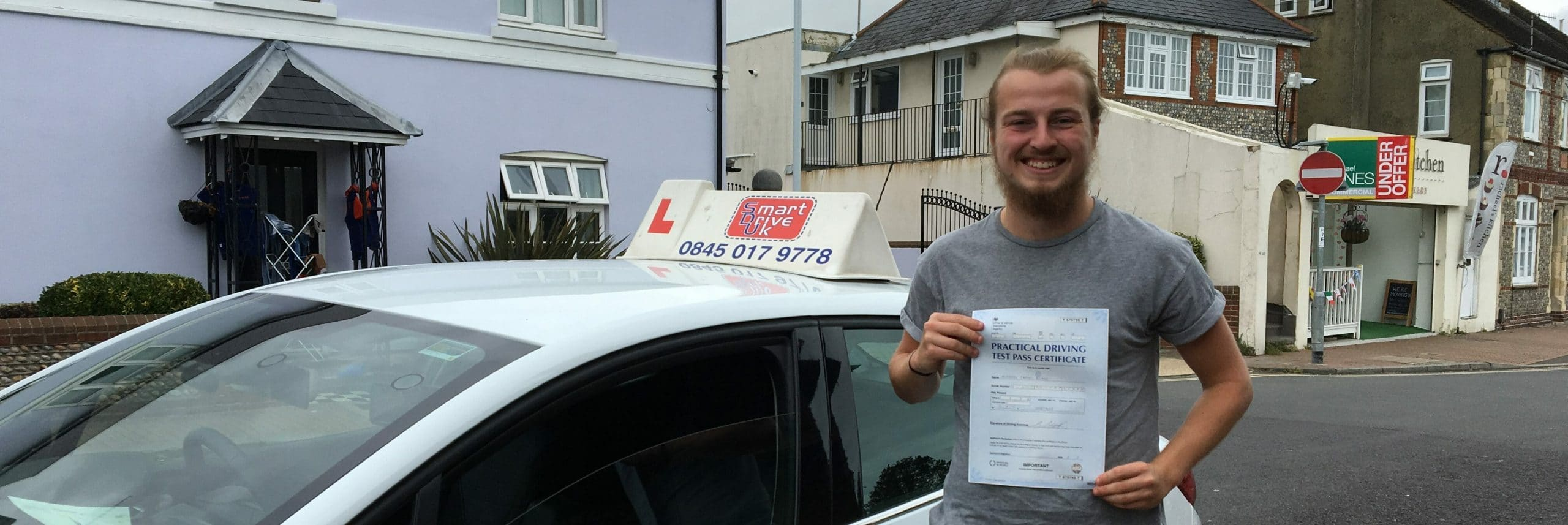 First Time Pass!! Congratulations to Andrew of Worthing