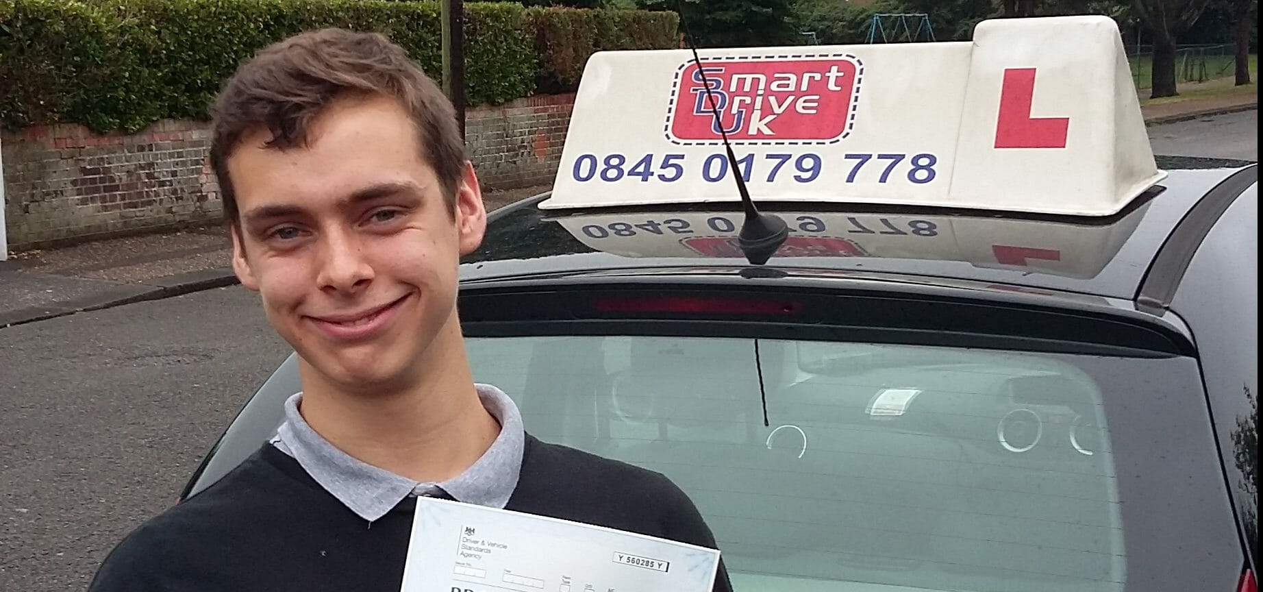 First Time Pass!! Top Result for Callum of Worthing.