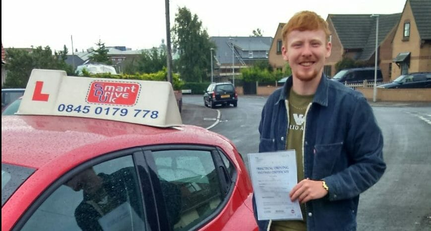 First Time Pass!! Congratulations to Joe Burch from Poole
