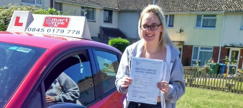 First Time Pass!!  Well done Emily Rosenberg from Poole