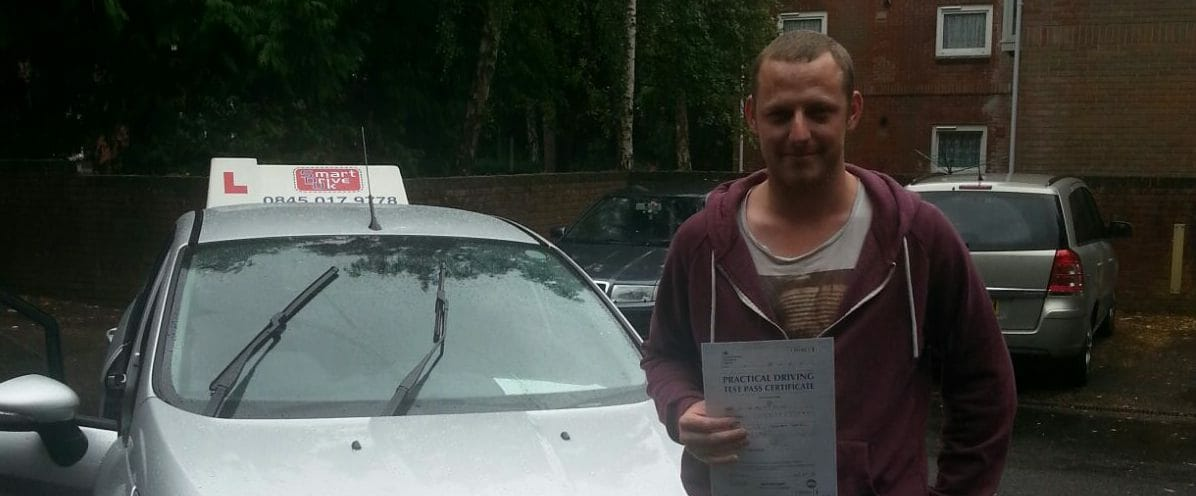 First Time Pass!! Congratulations to Liam from Poole