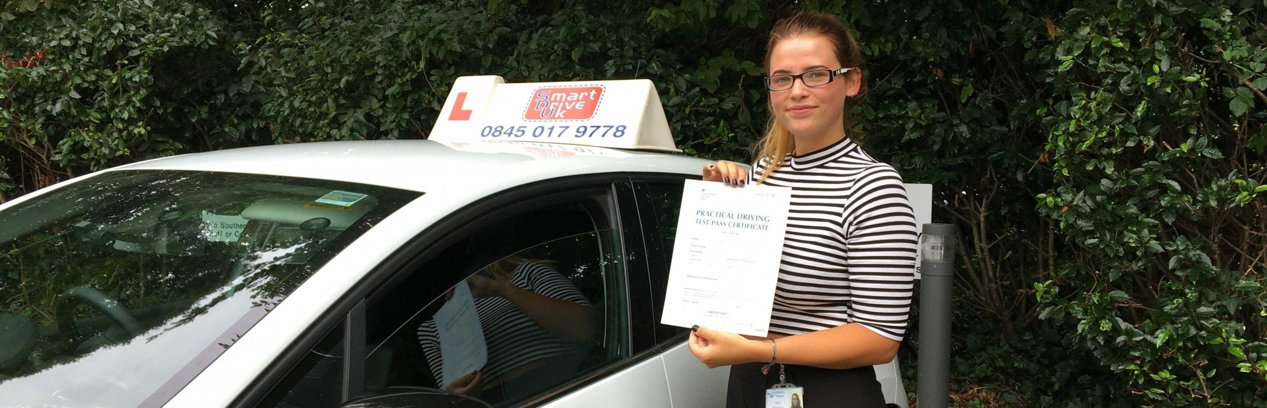 First Time Pass!! Congratulations to Sian of Worthing
