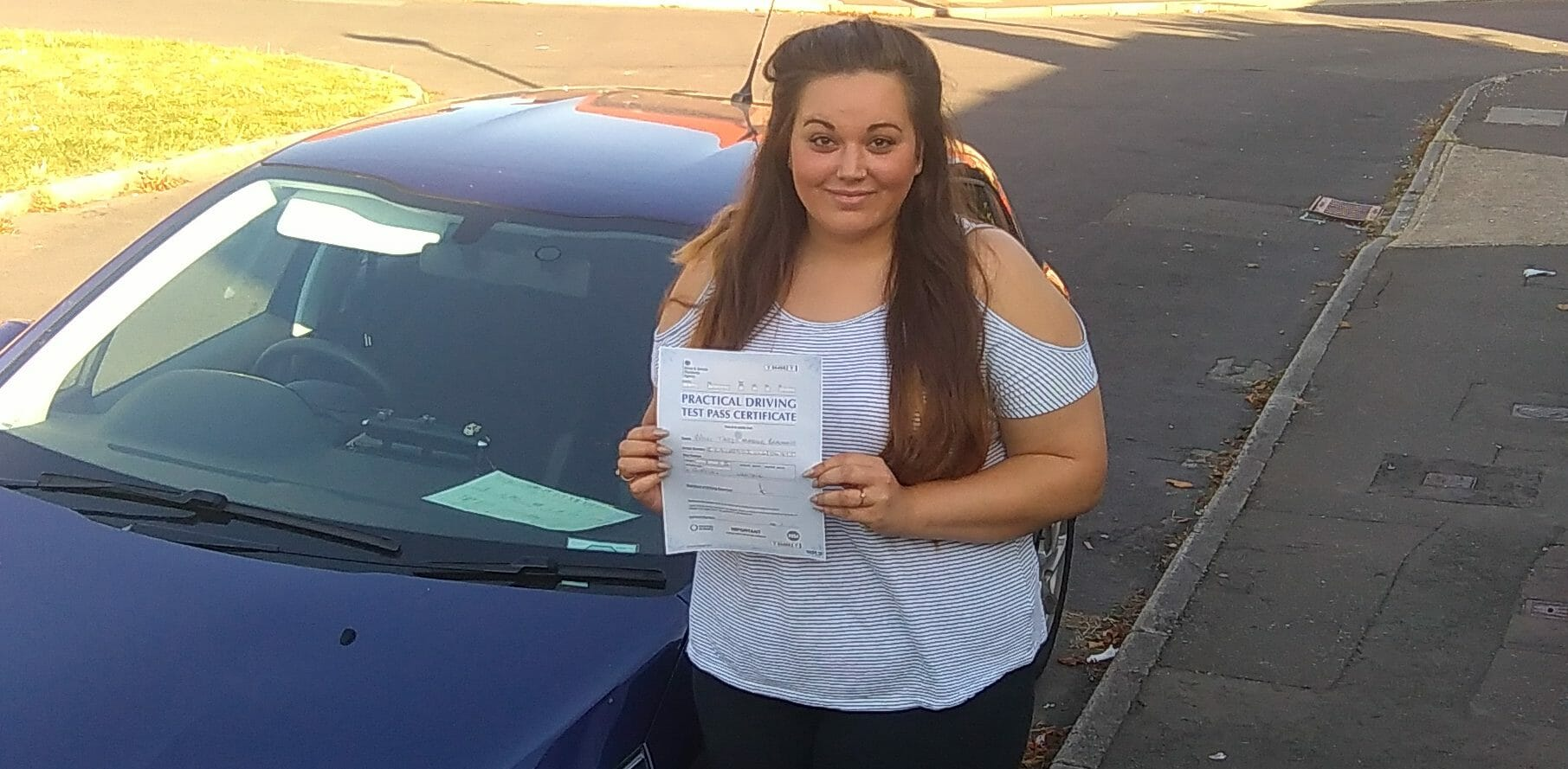 First Time Pass!! Well done to Taryn from Worthing.