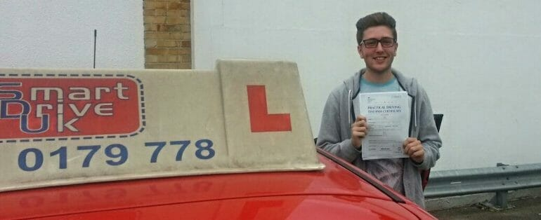 First Time Pass!! Well done Alfie Potter from Hedge End