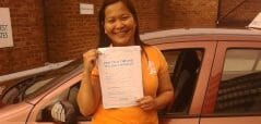 Zero Faults !! Congratulations to Becks Coloma from Littlehampton