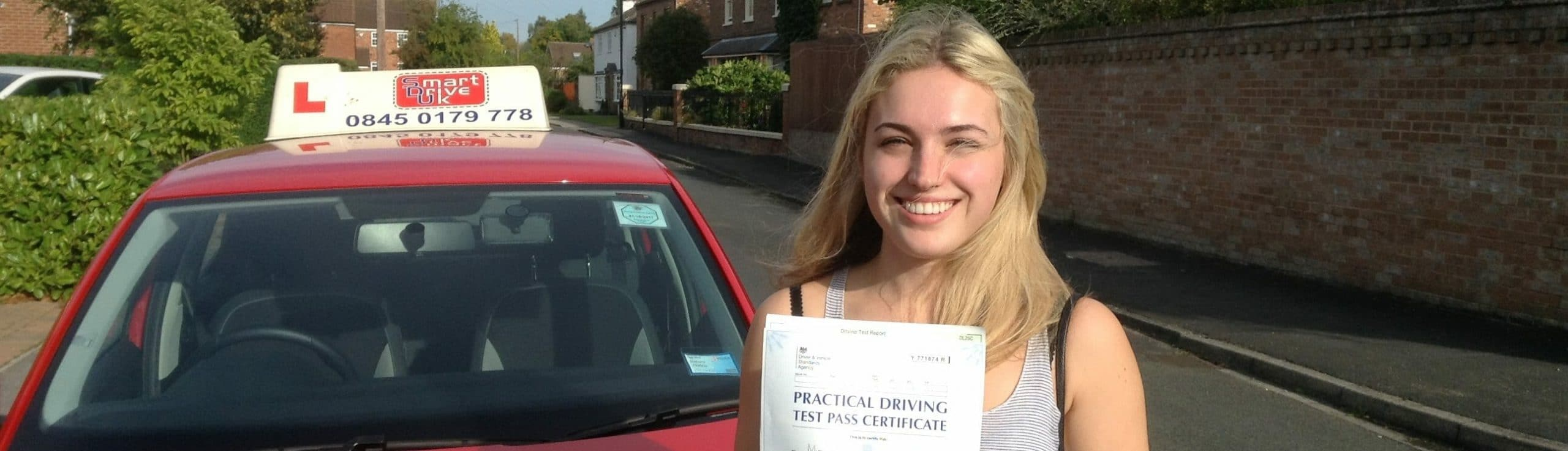 First Time Pass!! Congratulations to Ellie Lamb of York