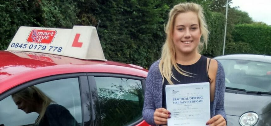 First Time Pass!! Congratulations to Taryn Hubbard from Poole