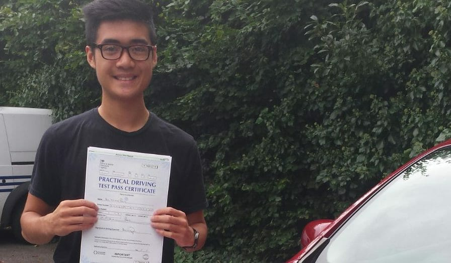 First Time Pass!! Congratulations to Kelvin Pang from Bournemouth