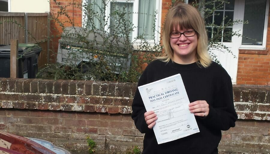 First Time Pass!! Well done to Grace Emmerson of Bournemouth