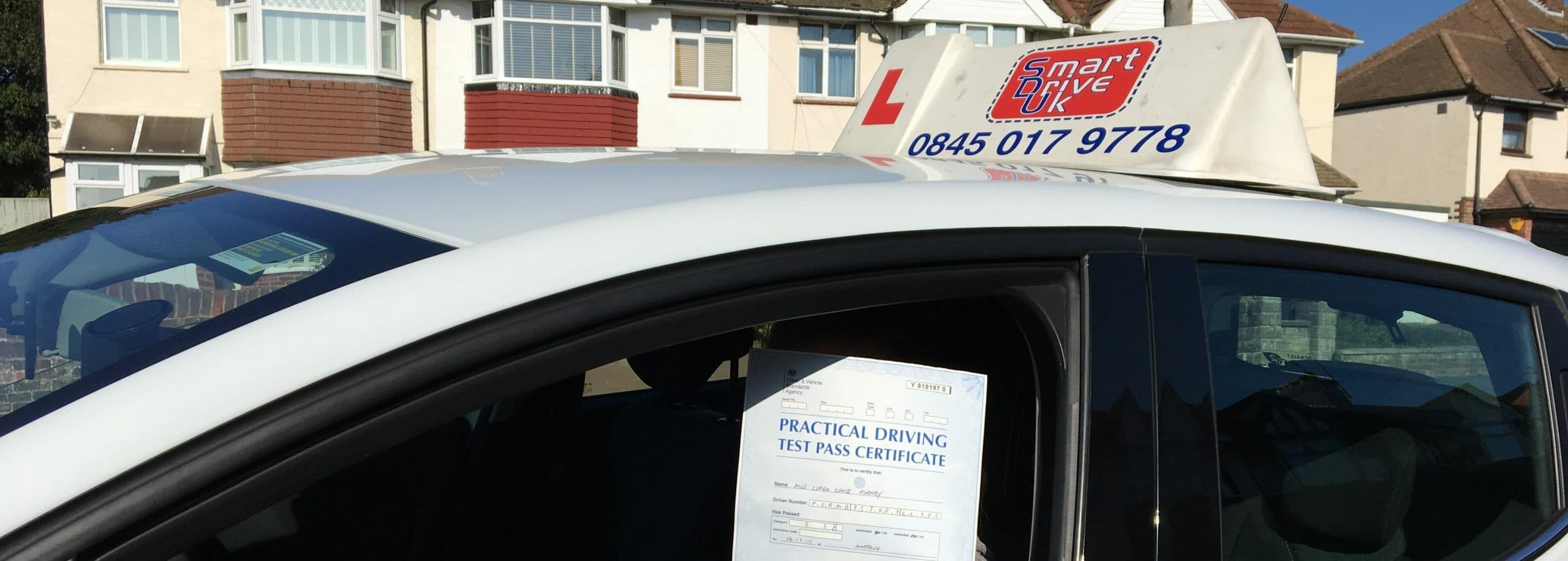 First Time Pass and Zero Faults!! Congratulations to Loren in Worthing