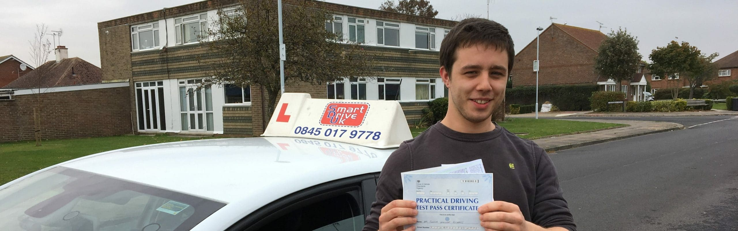 First Time Pass!! Congratulations to Connor of Worthing