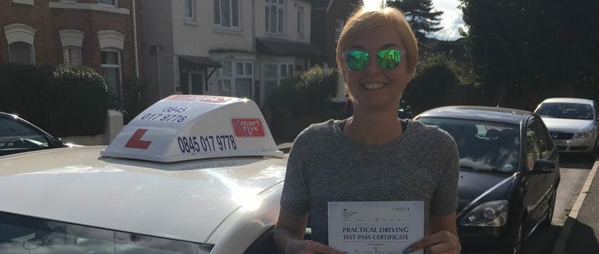 First Time Pass!! Well done to Jenna Lorry of Southampton