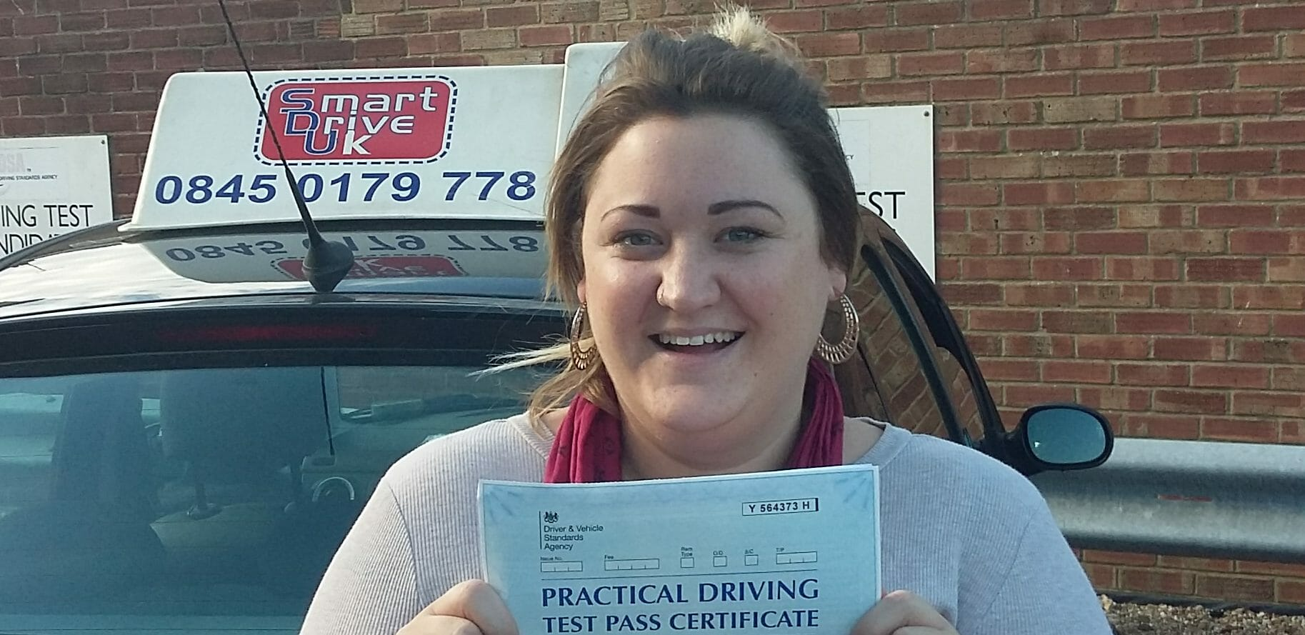First Time Pass!! Congratulations to Olivia Anstiss of Worthing