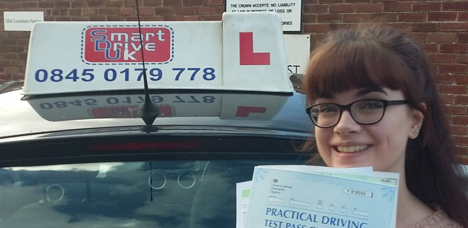 First Time Pass!! Well done Roisin McLachlan from Worthing