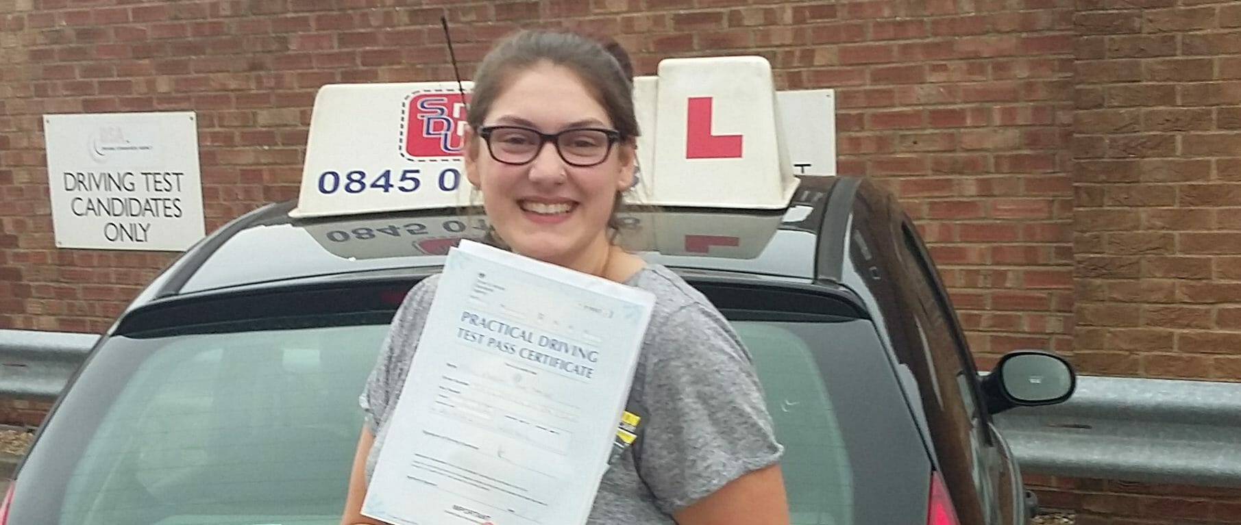 First Time Pass!! Congratulations to Morgan Taylor from Worthing
