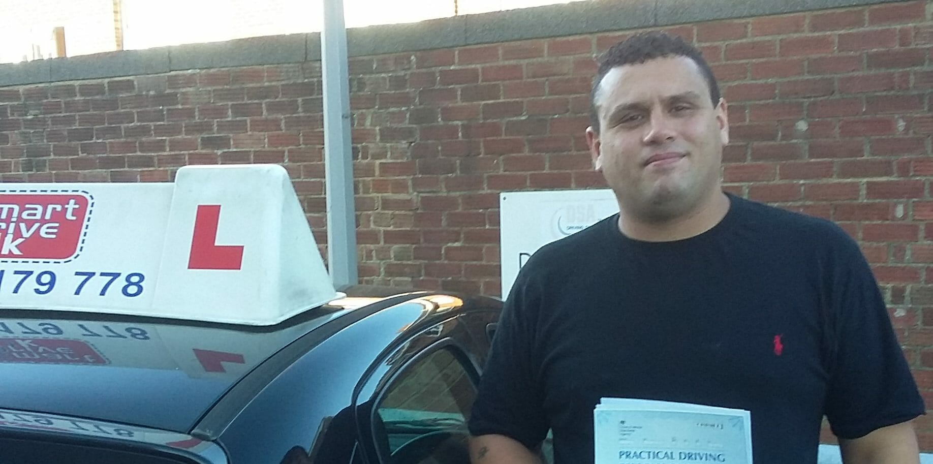 First Time Pass!! Great Result for Jon Roberts of Worthing