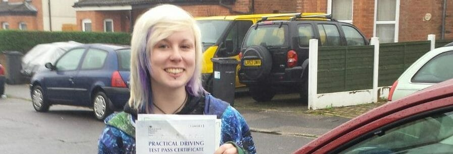 First Time Pass!! Congratulations to Jess West from Bournemouth