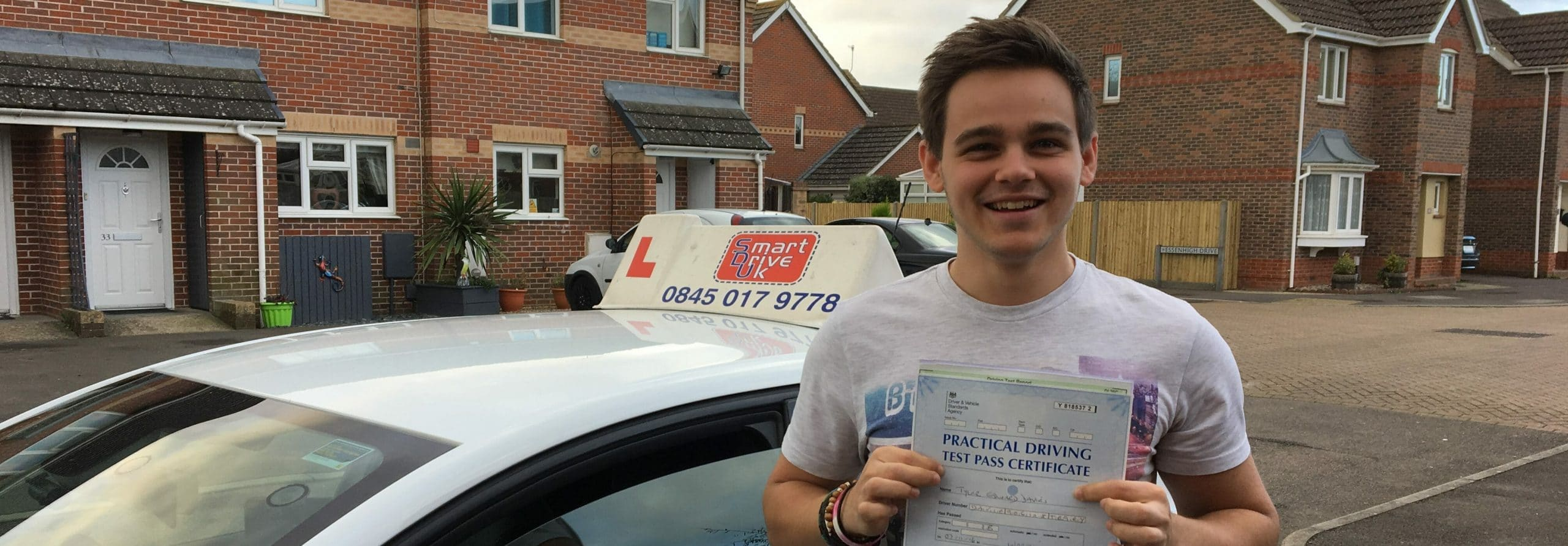 First Time Pass!! Congratulations to Tyler of Worthing