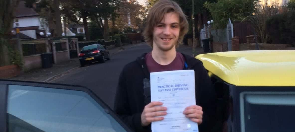 First Time Pass!! Well done to Jamie Monroe of Bournemouth