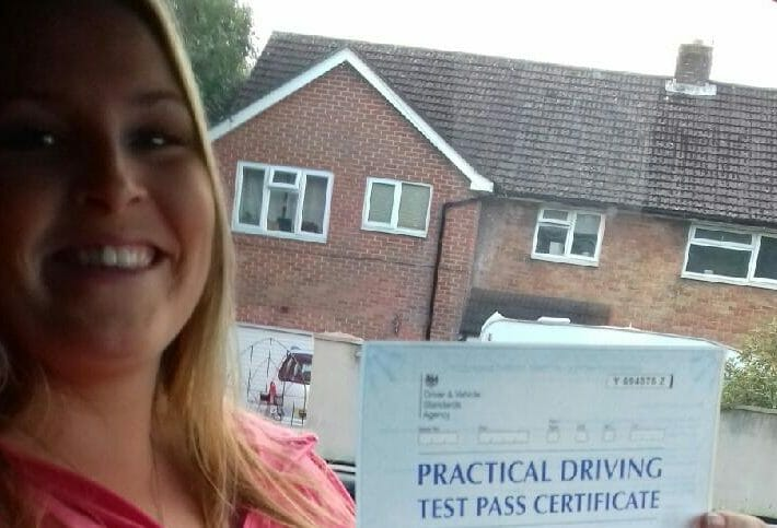 First Time Pass!! Congratulations to Charlee Munro of Poole