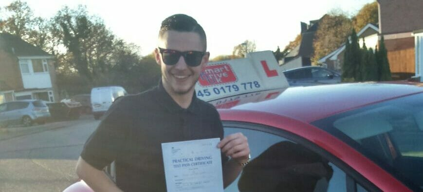 First Time Pass !! Congratulations to Adam from Poole
