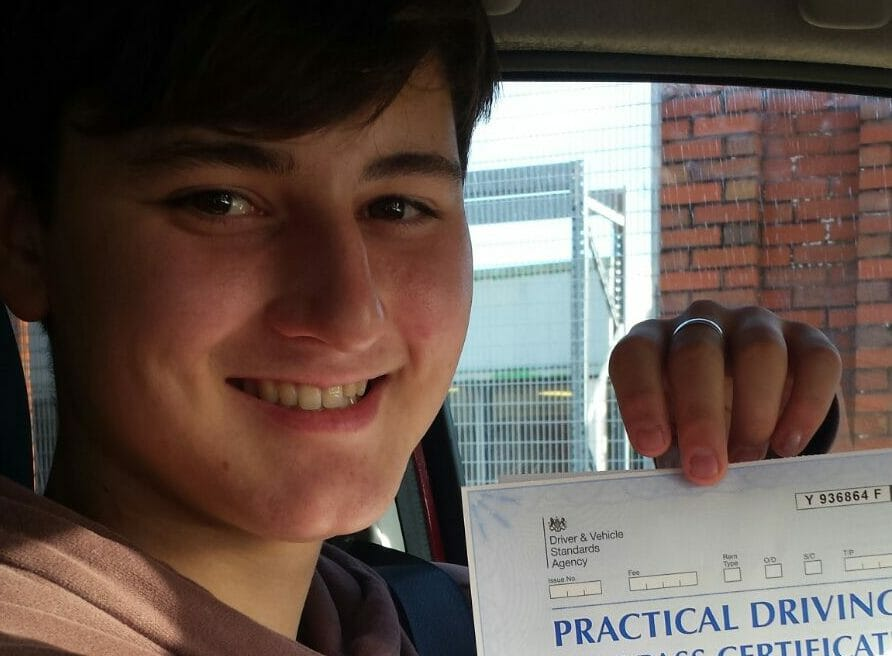 Congratulations to William Emmerson from Bournemouth