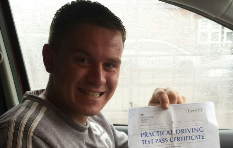 First Time Pass!! Congratulations to Sonny Jenn from Bournemouth