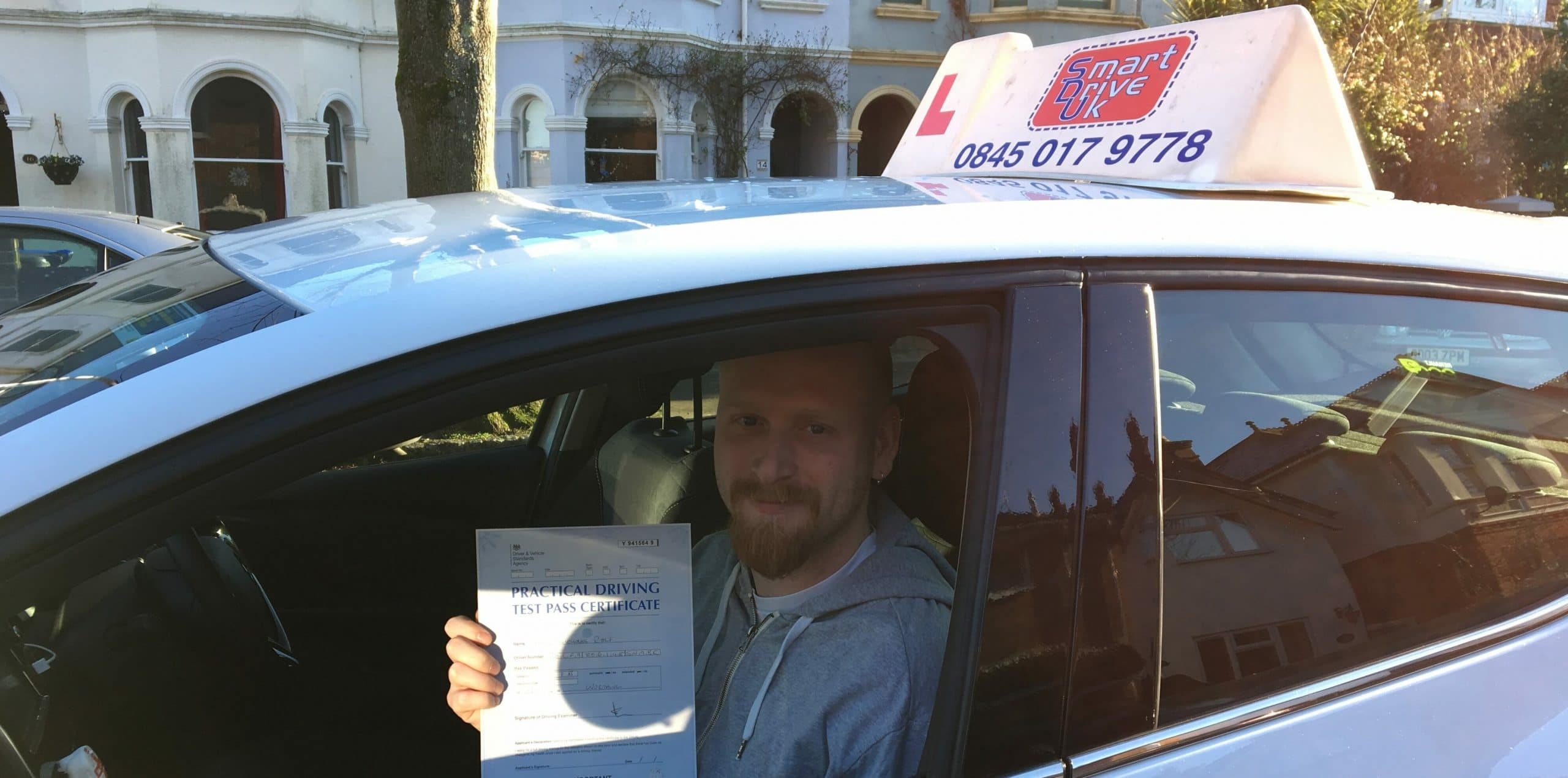 First Time Pass !! Congratulations to Shane of Worthing