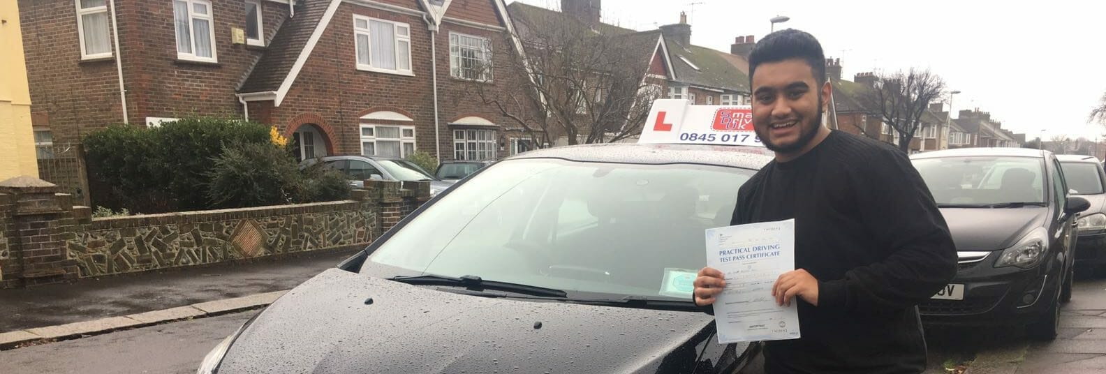 First Time Pass!! Well done to Imam Ali from Worthing.
