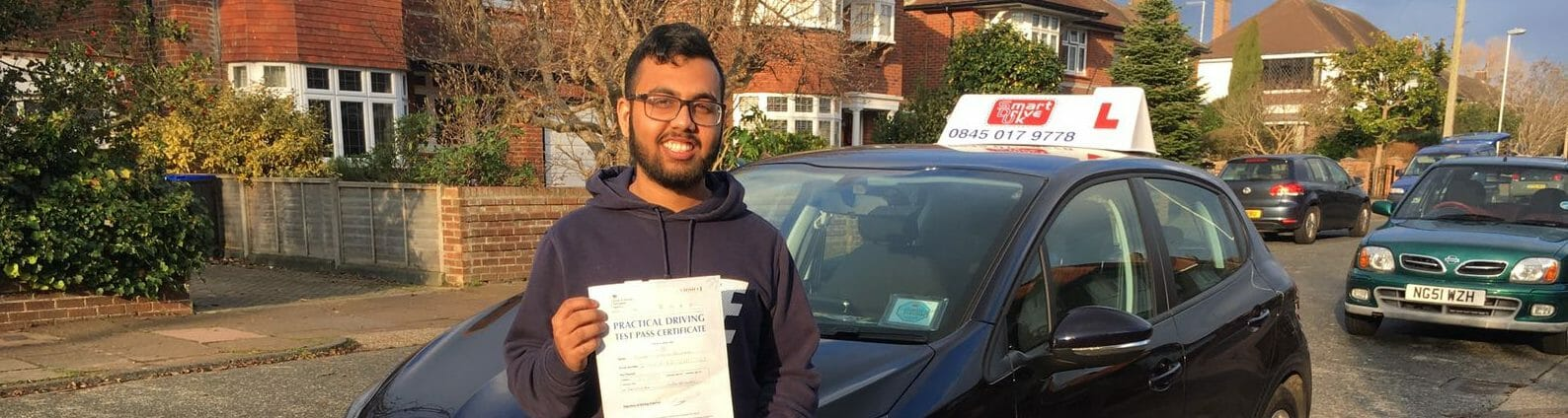 First Time Pass!! Well done Shafi Sikder of Worthing