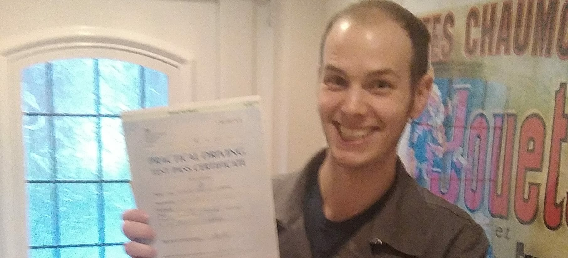 Congratulations to Nick in Littlehampton