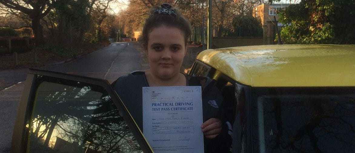 Congratulations to Chloe Burges of Bournemouth.