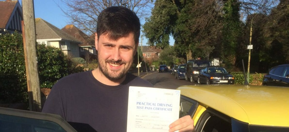 First Time Pass!! Well done to Jamie Sheridan of Bournemouth