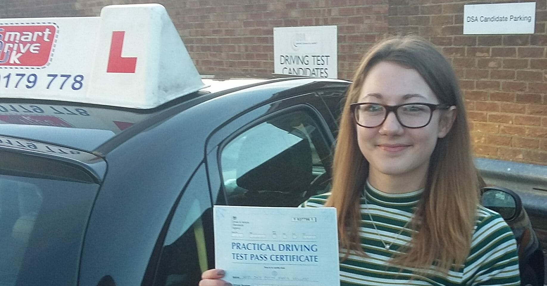 First Time Pass!! Well done Jade Kennedy from Worthing
