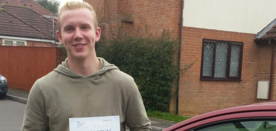First Time Pass!! Congratulations to Morgan Francis from Bournemouth