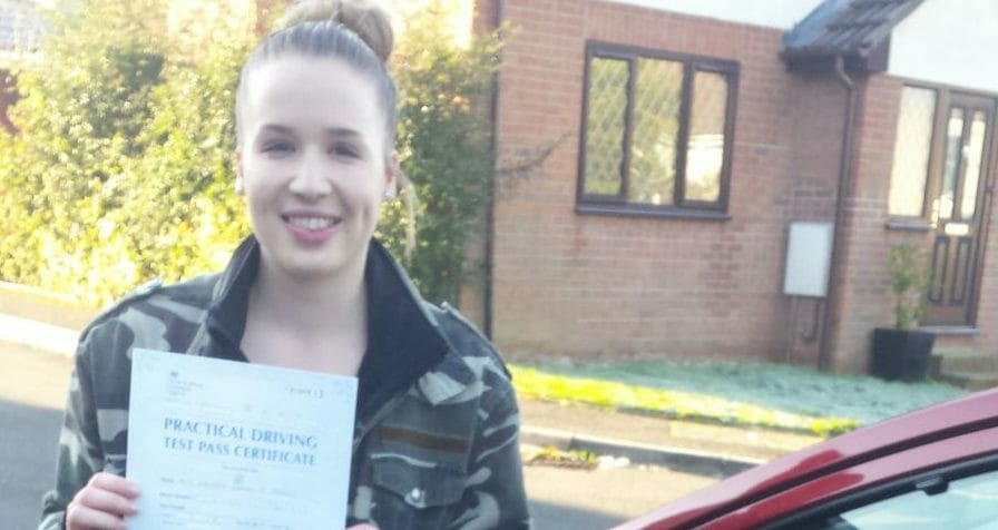 First Time Pass !! Congratulations to Georgia Francis from Bournemouth