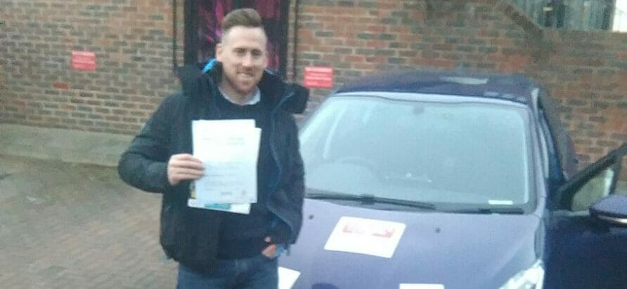 First Time Pass!! Well done to Andrew of Fareham