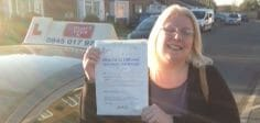 Congratulations to Justine Brown from Bognor Regis