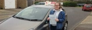 First Time Pass !! Congratulations Emma Hartfield from Worthing