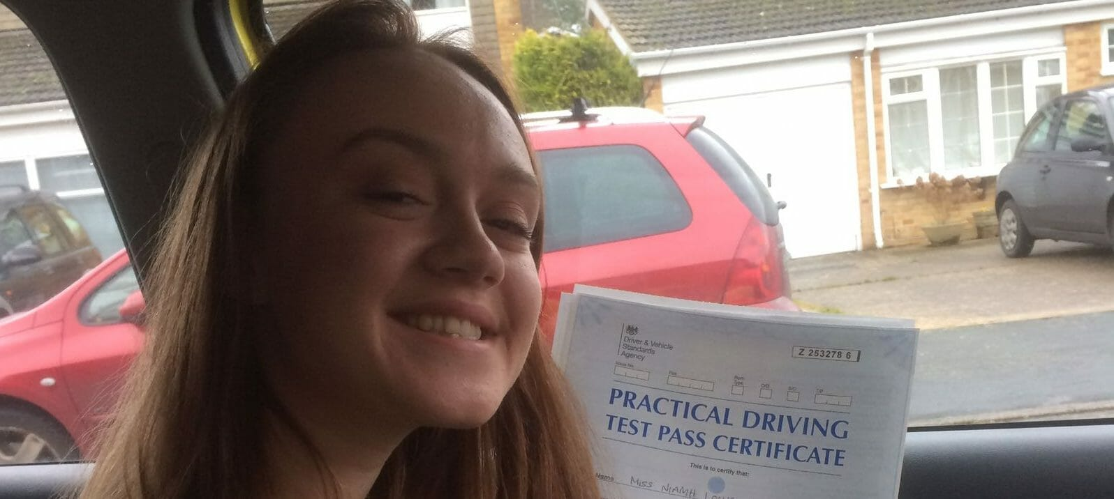 First Time Pass!! Congratulations Niamh Cheeseborough of Bournemouth