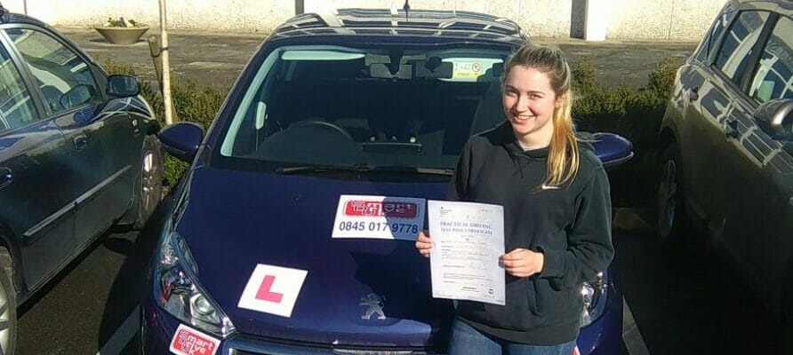 First Time Pass!! Well done to Emily Teeder from Worthing