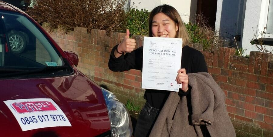 Congratulations to Doona Rhee from Bournemouth